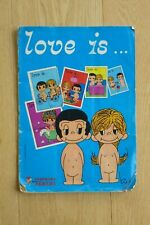 Vintage 'Love Is' Sticker Book by Kim Panini 1975 Incomplete
