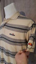 vintage ELLESSE Man's Polo Shirt Size: Medium VERY GOOD Condition