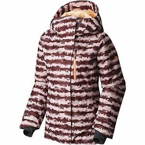Mountain Hardwear Barnsie Ladies Purple Plum Jacket Size Medium