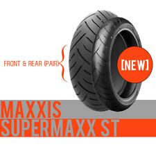 120/70 ZR17 & 180/55 ZR17 Maxxis Supermaxx ST Front & Rear Motorcycle Tyres pair