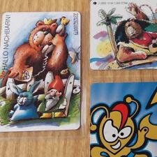 🔵 3 seltene Telefonkarten ★ Auflage NUR 1000 bzw 2000 Stück ★ RAR ★ Bären Tiere