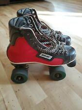 Vintage Bauer Hockey Style Roller Skates Size 8 1/2 Mens/10 Womens