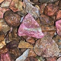 500 Carat Lots of SMALL Ruby/Sapphire Rough - Plus a FREE Faceted Gemstone