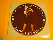 "Charlie Daniels Story-Radio Special-On 12"" Disc-His Story-Music Treasure-Mint"