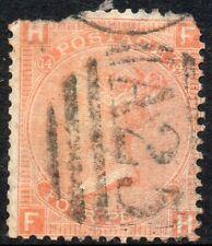 1873 Sg 95 4d deep vermilion 'FH' with A25 Malta Cancellation Good Used