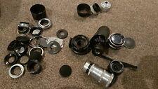 Job Lot Bundle Camera Lens Etc. Glanz Carl Zeiss Meyer Optik