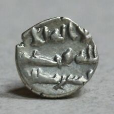 India Early type high quality silver damma (qanhari dirham) of Abdallah II,
