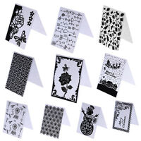 DIY Embossing Folder Scrapbooking Template Paper Card Album Craft Decor Tools