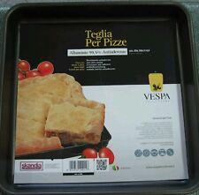 TEGLIA antiaderente pizza 35x35x4,5 VESPA FORNO RUOTO FORMA FOCACCIA CUCINA
