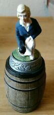 Bottle Stopper bowls figure Barrel Vintage rare oop retro ornament collectible