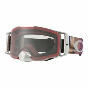 Oakley Adults Front Line Motocross MX Bike Goggles - Shockwave RB