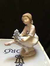 "Lladro #7620 ""Best Friend"" Collector's Society Figurine In Excellent Condition!"