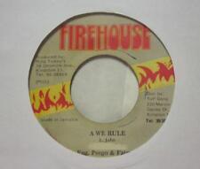 """Little John(7"""" Vinyl)A We Rule -Firehouse-D758-Jamaica-Ex/VG"""