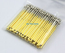 100 Pieces P100-H4 Dia 1.36mm Length 33.35mm Spring Test Probe Pogo Pin