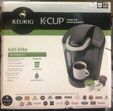 NIB Keurig K45 Elite Single Cup Brewing System (12 K-Cup+Packs Water Filter Kit)