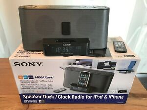 Sony Dream Machine ICF-C1iPMK2 Radiowecker FM AM Alarm iPhone iPod Dock OVP