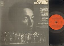 WOODY GUTHRIE a Tribute to PART 1 One LP NMINT foc GATEFOLD Tom Paxton BOB DYLAN