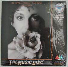 "Kate Bush  - The Sensual World  - The Videos  Music  8"" inch  Laserdisc Edition"