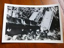 Lot38 - WW2 Original Photo TANK and Treads