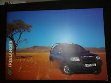 Land Rover Freelander Range brochure 2000