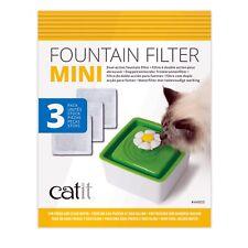 Catit Flower Cat Water Fountain Mini Cartridges (3 Pack)