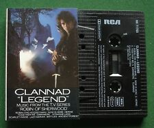 Clannad Legend from TV Series Robin Of Sherwood Cassette Tape - TESTED
