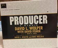 Producer Memoir David Wolper Fisher 2004 12CDs Unabridged Mike Wallace NEW SEAL