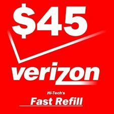$45 VERIZON PREPAID FAST DIRECT to PHONE 🔥 GET IT TODAY! 🔥 TRUSTED SELLER