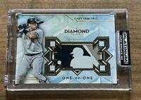 2020 TOPPS DIAMOND ICONS GARY SANCHEZ MLB LOGOMAN SP ONE-OF-ONE 1/1 NY YANKEES
