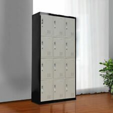 New 12 Door Storage Lockers Office Gym Shed Home Furniture