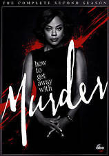 How to Get Away with Murder Second 2 Season DVD - Usually ships in 12 hours!!!