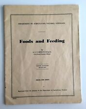 Foods and Feeding 1967 A C T Hewitt 10th Tenth Edition Department of Agriculture