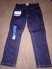 Faded Glory boys kids skinny adjustable waist jeans denim pants size 4 regular