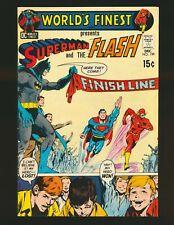 World's Finest Comics # 199 - 3rd Superman/Flash race Adams cover Fine Cond.
