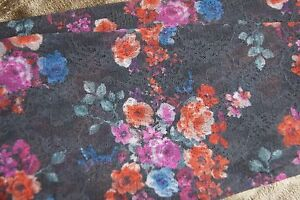 """Trasparenze Grey """"Garden"""" Lacy Floral Footless Tights Variant D"""