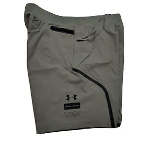 UNDER ARMOUR UA Mens sz Large Unstoppable Training Fitted Shorts Heat Gear $80