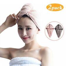 Rapid Drying Hair Towel 2 Pack