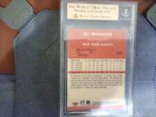 04 Fleet Tradition**Rookie** Eli Manning!! BGS graded 9.5 gem mint!! Nice!!