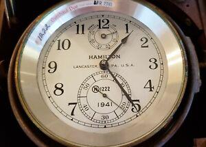 Hamilton model 21 Ship Chronometer 1941