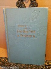 1900 History of First New York Dragoons Civil War J R Bowen WITH REUNION CARD