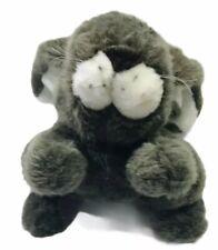 "Cuddle Wit Gray Bunny 13"" Plush Vintage Stuffed Animal"