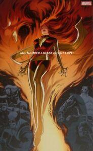 Dark Phoenix Renaud VIRGIN Exclusive Euro Variant Wolverine X-Men Only 700 Rare
