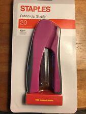 Staples Stand Up Stapler 20 Sheet Capacity 1000 Staples New In Package