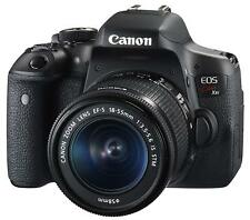 Canon DSLR Camera EOS Kiss X8i Lens Kit EF-S18-55mm F3.5-5.6 IS STM EMS