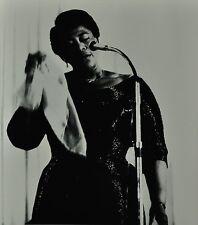Chargesheimer Original 1961 30x40cm Ella Fitzgerald B&W Photo Print Jazz Concert