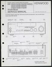 KENWOOD KRF-V5020/V6020/V7020 VR-305/306/355 Original Service-Manual o193