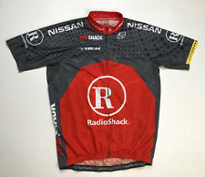 Bontrager Livestrong Trek Radio Shack Men's Cycling Jersey Red SS XL Full Zipper