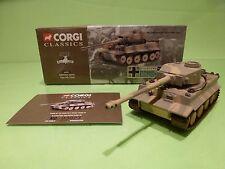 CORGI 66501 GERMAN ARMY TIGER MK I TANK - RUSSIAN FRONT 1943 - MILITARY  - GCIB