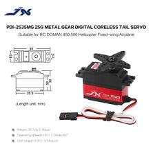 JX PDI-2535MG 25g Metal Gear Digital Coreless Tail Servo for RC 450 500 K7I0