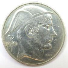1949 Belgium Silver 20 Francs Coin